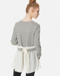 Μπλούζα με δέσιμο στην πλάτη Bell Sleeves, Bell Sleeve Top, Tops, Women, Fashion, Moda, Women's, La Mode, Shell Tops