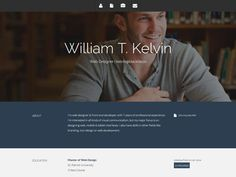 Awesome Templates to Create your Personal Website 2018 Free Html Templates, Bootstrap Template, Blogger Templates, Icon Design, Web Design, Free Personals, Visual Communication, Website Template, Web Development