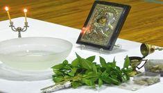 Ο μικρός Αγιασμός, το καθημερινό μεγάλο όπλο του Χριστιανού! Interesting Information, Candle Holders, Candles, Texts, Filter, Religion, Blog, Finger Food, Porta Velas
