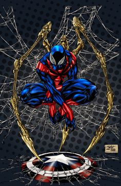 #(Spiderman Color) By: Spiderguile & Pigz-n-Zen.