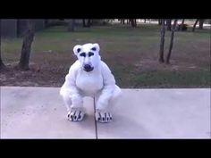 This is an example of how one might go about making a full fledged costume. I usually make felines, and different kinds of beasts. This full suit is my. Fursuit Tutorial, Polar Bear, Beast, Diy, Bricolage, Do It Yourself, Homemade, Diys, Crafting