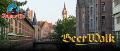 In Ghent, beer brewing went hand in hand with religious life. Discover Ghent and its incredibly surprising history during a three-hour beer walk through the city. Five beer tasting sessions and an official BeerWalk glass are included in the price. Beer Tasting, Beer Brewing, Tours, History, City, Travel, Historia, Viajes, Cities