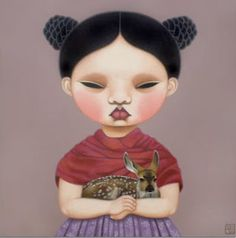 2008 HELLO FRIDA, Paintings by Poh Ling Yeow, a Malaysian-born Australian artist, actress and runner-up in MasterChef Australia.