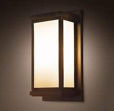 I got it!!!  These will be the Porch Column Lights.   Ordering now:)  x9...ugh. Outdoor Lighting   Restoration Hardware