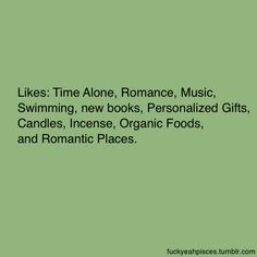 Sadly the thing that stood out to me was incense...which made me think of TMI... So no