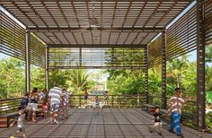 Gallery - Naples Botanical Garden Visitor Center / Lake|Flato Architects - 9