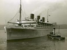 Cruise Ship and Tug Boat