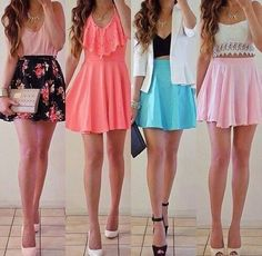 There are just no hard and quick rules in regards to girly outfits. Thus, be sure to dress up in bright and stylish outfits. If you're trying to find the best winter wear outfit, you don̵… Teenage Outfits, Outfits For Teens, Casual Outfits, Outfits 2014, Casual Clothes, Night Outfits, Casual Dresses, Cute Summer Dresses, Cute Dresses