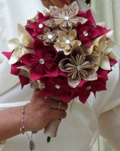 Des fleurs en papier