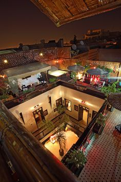 "Riad Dar Najat, Marrakech Picture: Riad Dar Najat""Coolest Riad In Marrakech"" - Check out Tripadvisor members' candid photos and videos. Courtyard House Plans, Courtyard Design, Spanish House, Spanish Style, Islamic Architecture, Architecture Design, Design Cour, Design Design, Design Marocain"