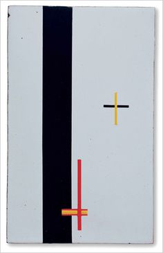 """Konstruktion in Emaille 3"" by Moholy-Nagy"