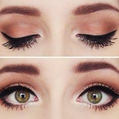 Pretty eye makeup makeup