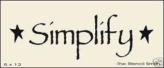 876   STENCIL for sign Simplify primitive stars