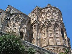 Monreale cathedral exterior, near Palermo, Sicily  #palermo #sicilia #sicily