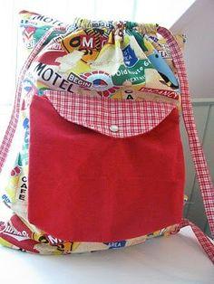 CREATE STUDIO: Road Trip Backpack Pillow