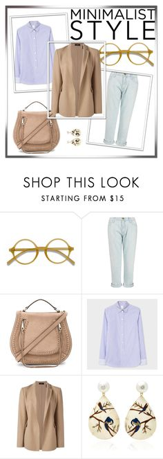 """Hope for minimalism"" by ivan-fedorov on Polyvore featuring мода, EyeBuyDirect.com, Current/Elliott, Rebecca Minkoff, Theory и Silvia Furmanovich"