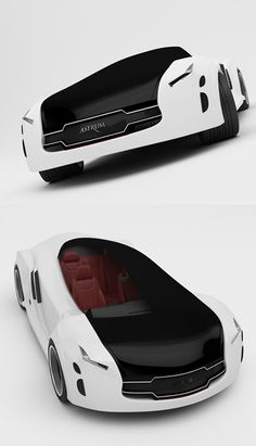 ♂ White car Astrum Meera concept car from http://xaxor.com/engine/20720-astrum-meera-concept-car.html