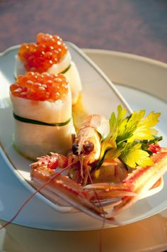 is an MSC speciality! Mediterranean Shipping Company, Short Cruises, Msc Cruises, Fine Wine, Fine Dining, Seafood, Good Food, Dishes, Ethnic Recipes