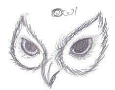Owl Eyes Drawing | Microsoft Windows Photo Gallery 6.0.6001.18000