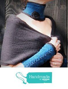Col tour de cou gothique corset médiéval ruban collar choker victorien gothic victorian en laine alpaga au tricot et crochet broche fleur perle de verre cadeau de Noël à partir des LilithCreation-Boutique https://www.amazon.fr/dp/B01MFD7O7G/ref=hnd_sw_r_pi_dp_Ex5eyb4YK12BD #handmadeatamazon