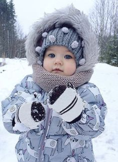 My lovely cute son with blue eyes