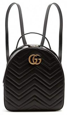 9d84a86c9bdf Gucci Gg Marmont Chevron Quilted Leather Mini Backpack ( 1