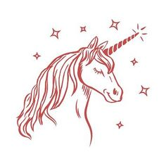 Dare to dream about unicorns, because now you have proof they're real! This magical stamp proves it. Decorate your unicorn with glitter or a heat tool to enhance its beauty!