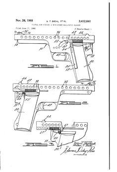 Pistol for Firing a Miniature Ballistic Rocket - Gyrojet
