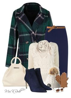 Warm Winter In Plaid by mrskrodd on Polyvore featuring Alexander McQueen, Jaeger, Tory Burch, Marc by Marc Jacobs, BeckSöndergaard, Isotoner, MANGO and Abercrombie & Fitch
