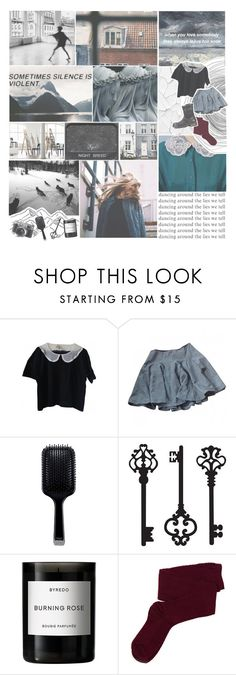 """""""SOMETIMES SILENCE IS VIOLENT"""" by darlingpastiche ❤ liked on Polyvore featuring DK, Fuji, GHD, Brewster Home Fashions, Byredo, Fevrie and UGG Australia"""