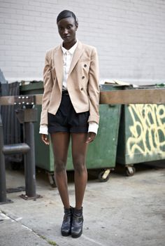 Amy Sall, NYC | in Rick Owens wedges