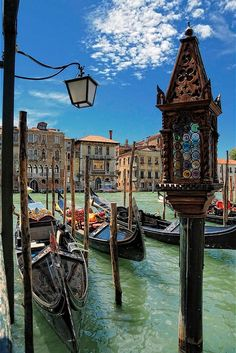 Venice, Italy. While I would love to visit Venice, I am a little freaked out by a City that seems to be floating.