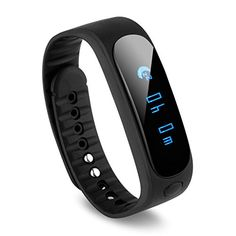 Smartwatch Bluetooth Bracelet Sport Ip67 Waterproof Pedometer Remote Control Camera  Play for Health Fitness Sport Dream Black * To view further for this item, visit the image link.