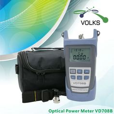 الألياف البصرية السلطة متر VD708B-50 ~ + 26dbm مع حقيبة شحن مجاني