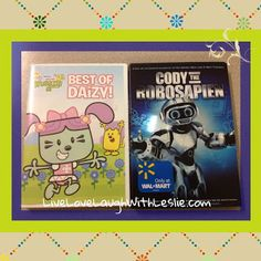 """Live, Love, Laugh With Leslie: ♥""""Best of Daizy"""" and """"Cody The Robosapien"""" DVDs {GIVEAWAY} USA-8/1"""