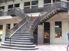 Ellicott Square Building interior court.