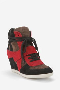 UrbanOutfitters.com > Ash Bowie Wedge-Sneaker.........must get these ASAP!
