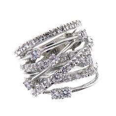 X Crossover ring Available now  http://m.ebay.com/sch/artofjew/m.html?isRefine=true&_pgn=2&_nkw=seller%3Aartofjew&_sasl=artofjew&loadLocalAspects=true