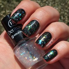 Dermacol Nail Polish With Effect, 01 Holo Flake + Dermacol Nail Polish Advent Calendar, #8