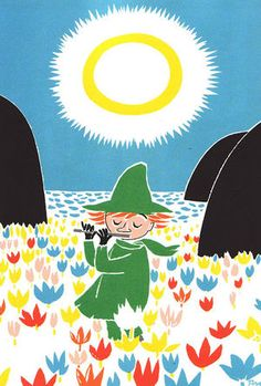 Snufkin - from the Moomin books by Tove Jansson Tove Jansson, Moomin Books, Les Moomins, Moomin Valley, Vintage Children's Books, Vintage Kids, Children's Book Illustration, Childrens Books, My Books