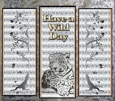 glitter graphics, greeting, wild day, leopard graphics, animated greeting