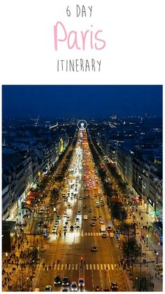 6 day Paris itinerary. This is one of the best guides for first-time visitors to see the best of Paris in one week.
