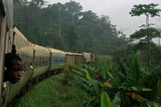 Yenkassa - Ghana Life ghanalife:  Traveling in Ghana On a train from Takoradi to Kumasi