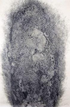 Hiroyuki Doi - Reincarnation of the Soul I, 2006 122 x 97 cm Ink on Japanese…