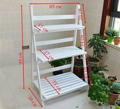 ideas plants stand diy display for 2019 Garden Shelves, Plant Shelves, House Plants Decor, Plant Decor, Garden Furniture, Diy Furniture, Wood Projects, Woodworking Projects, Diy Plant Stand