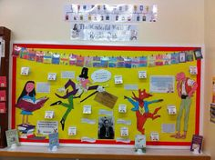 Roald Dahl display