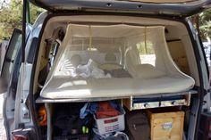 fiat doblo i autohimmelbett sehr gut zu zweit im auto schlafen en auto dormir avec auto. Black Bedroom Furniture Sets. Home Design Ideas