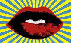 Red Lips by chelseadaniele