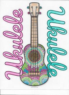 Résultats de recherche d'images pour « decorate ukulele to color Teaching Music, Coloring Pages, Crafty, Learning, Summer Camps, Free, Decor, Ideas, Quote Coloring Pages