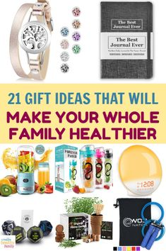 Give one of the greatest presents of all this holiday season- the gift of health. Check out 21 brilliant gift ideas that'll make your family healthier! Health And Wellness, Health Tips, Health Facts, Family Gifts, Family Presents, Natural Parenting, 21st Gifts, Attachment Parenting, Inexpensive Gift